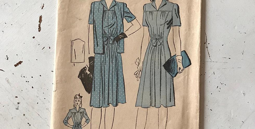 Vintage Advance Dress/Jacket Pattern