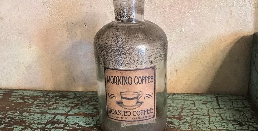 Vintage Look Morning Coffee Jar
