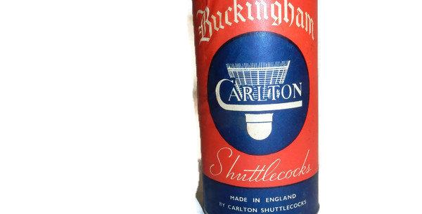 Buckingham Shuttlecocks Carlton Unopened Vintage