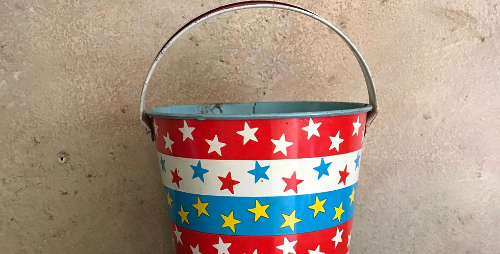 Ohio Art Patriotic Sand Pail