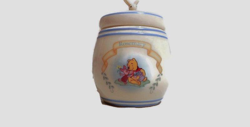 2000 Lenox The Pooh Pantry Spice Jar Rosemary