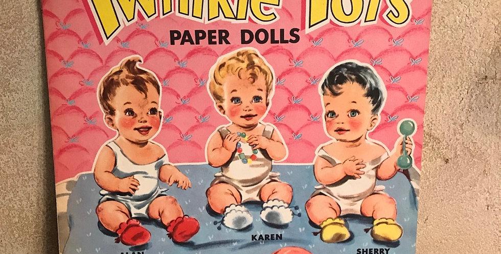 Twinkle Tots Paper Dolls Uncut