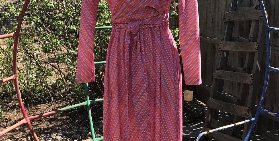 Wrapped Bodice NOS  Maxi Dress