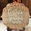 Thumbnail: Gather with Grateful Hearts Wood Plaque