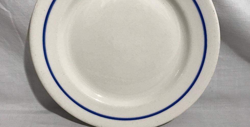 """McNicol Restaurant China 9"""" Plate"""