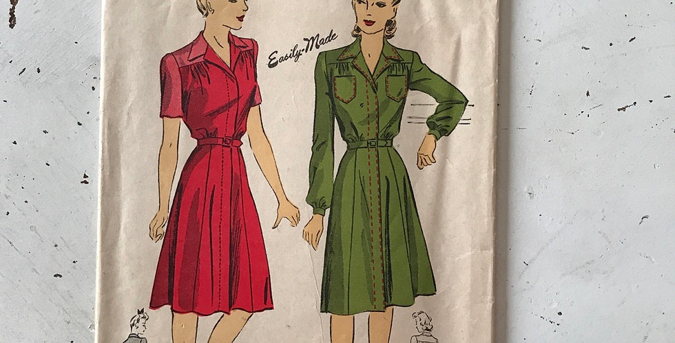 Du Barry Vintage Dress Pattern