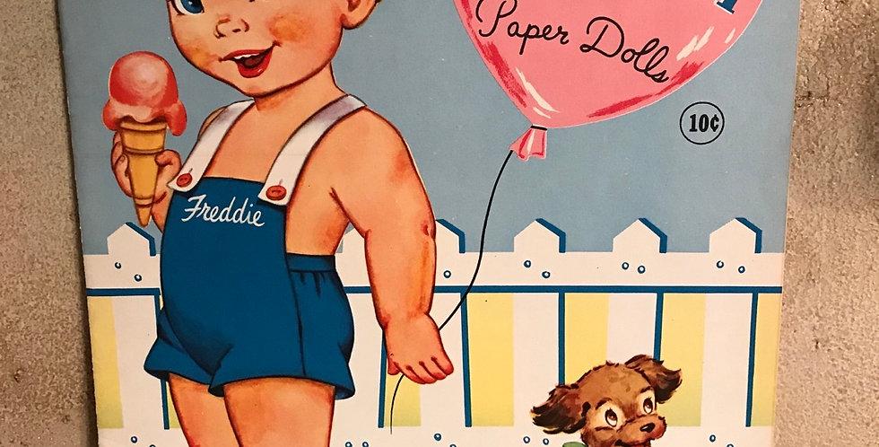 Vintage Little Neighbor Paperdolls Uncut