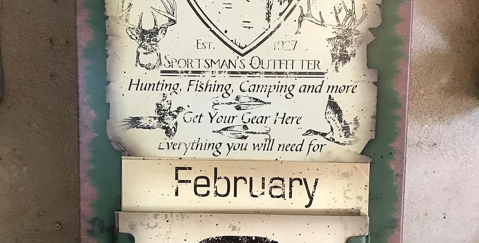 Forest Creek Calendar