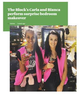 Bianca & Carla x The Block