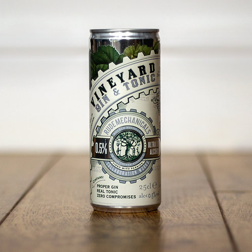 Vineyard Gin & Tonic (0.5% ABV)