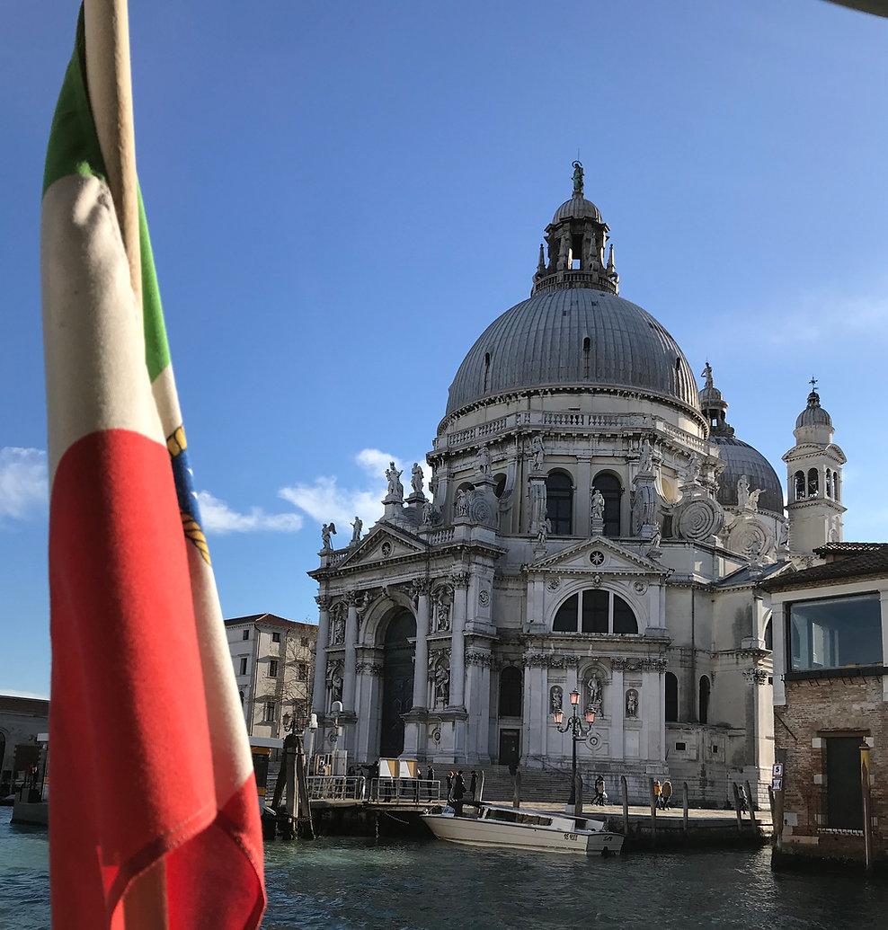 La Basilica della Salute a Venezia