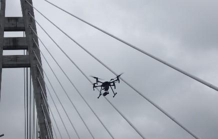 UAVによる調査状況