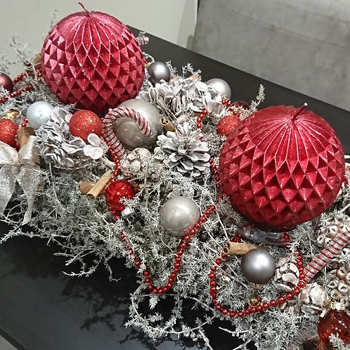 Gray Asparagus (table runner)