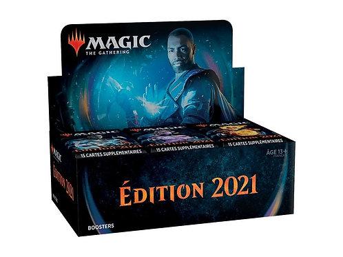 Magic The Gathering : Édition de base 2021 Boîte de 36 Boosters
