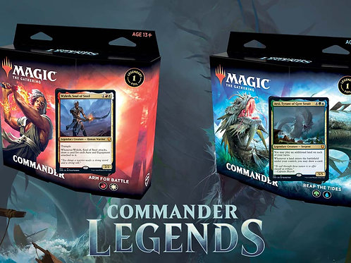 Magic the Gathering : Commander Légendes - FRENCH