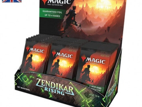 MTG - Zendikar Rising Set Booster Display (30 Packs) - EN