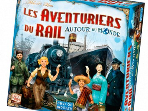 Les Aventuriers du Rail - Autour du Monde