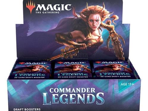 Commander Legends Draft Booster Display (24) FR ou EN