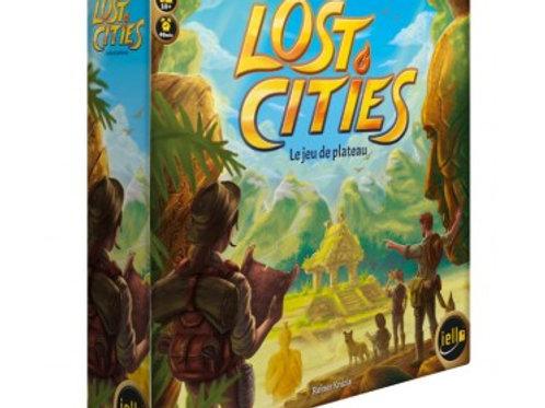 Lost cities - Le jeu de plateau