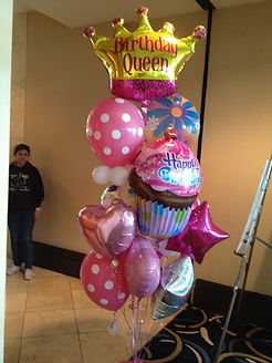1.  Large Balloon Bouquet  $85.00