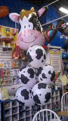 Cow Balloon Bouquet $34.99