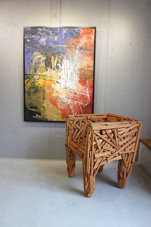 Stuhl Favela Wooden Chair