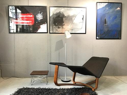 Chaise Lounge Scandinave Westnofa