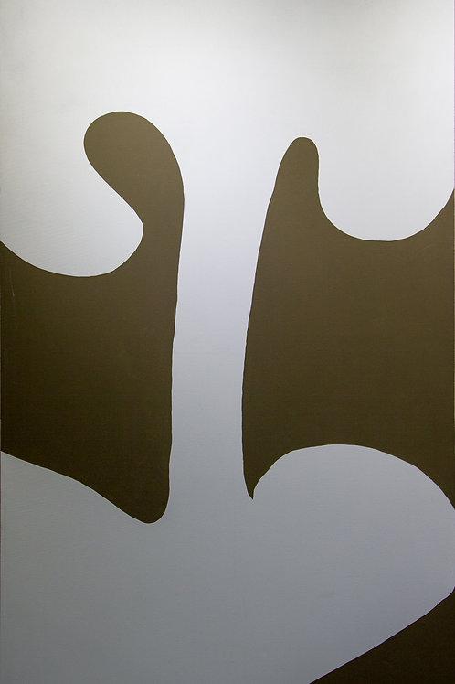 Untitled (Olive and White), Rosanne Kapela, 2015