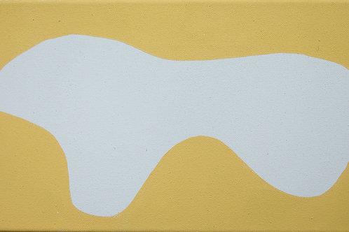 Untitled (Yellow and White), Rosanne Kapela, 2016