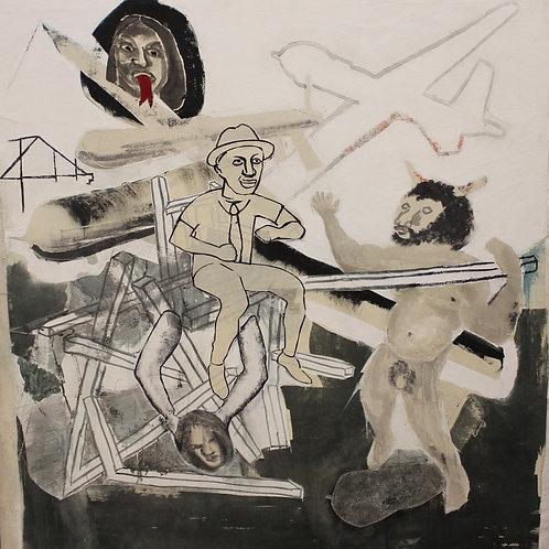Triumph of the Minotaur (Zippity do da), Nathan Bartley, 2016