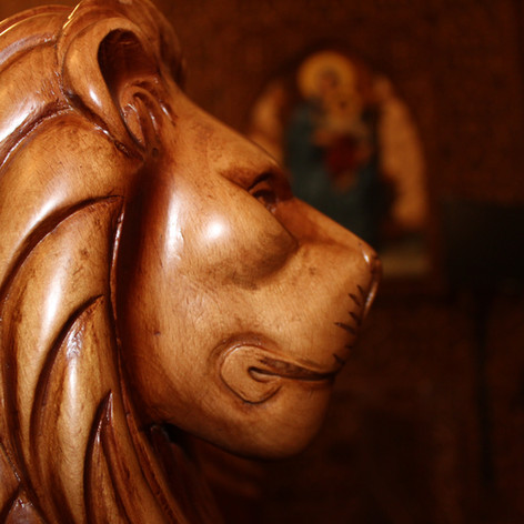 Lion of Papal Chair