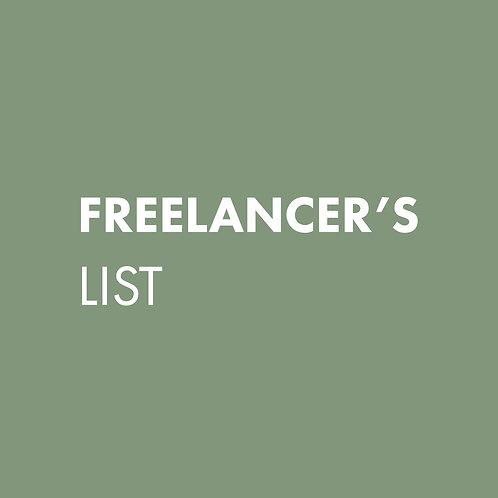 Freelancers List