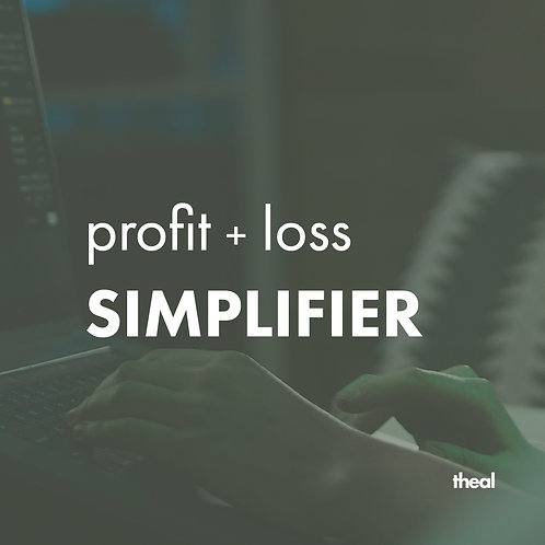 Profit + Loss Simplifier