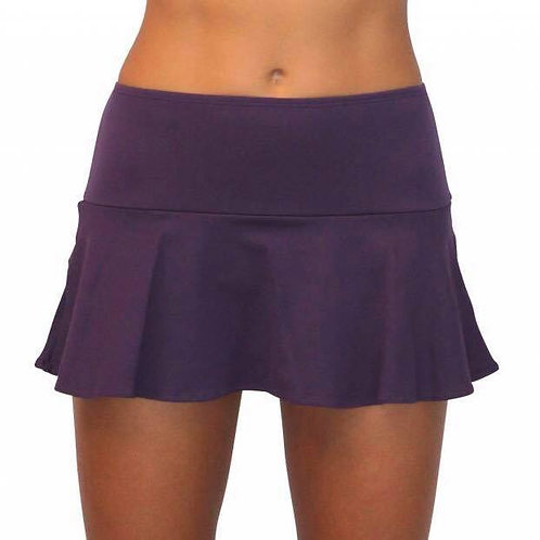 Egg Plant_MB-291_Skirt w/ Attached Bottom