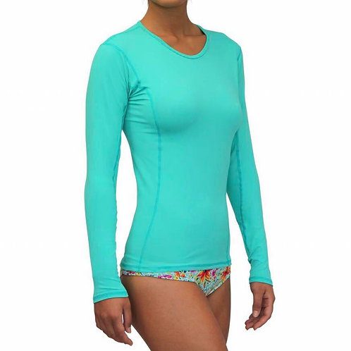 Sea Green_T-219_Rash Guard