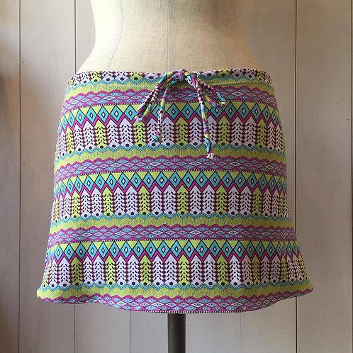 Bollywood_Short Drawstring Skirt