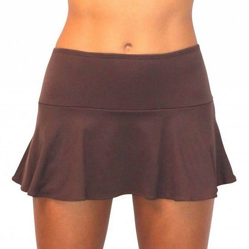 Chocolate_MB-291_Skirt w/ Attached Bottom