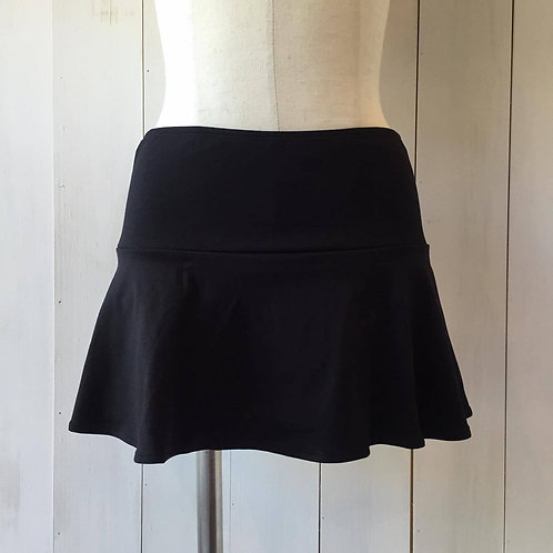 Black_MB-291_Skirt w/ Attached Bottom