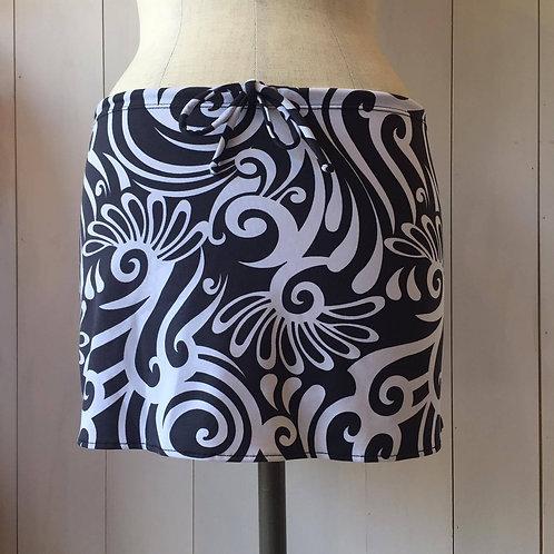 Moorea_Short Drawstring Skirt