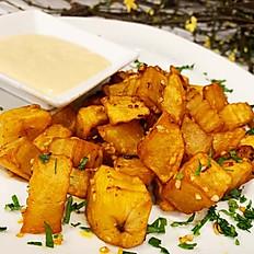 Spiced Garlic Potato