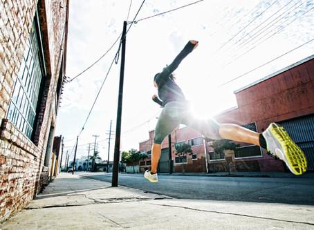 Är löpning skadligt för knä och rygg?