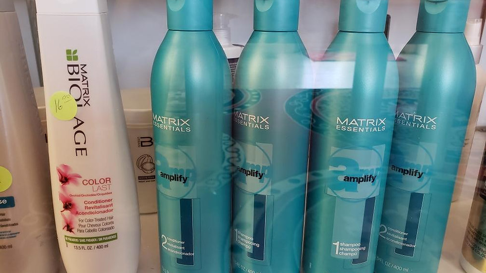 Matrix Shampoos and Conditioners