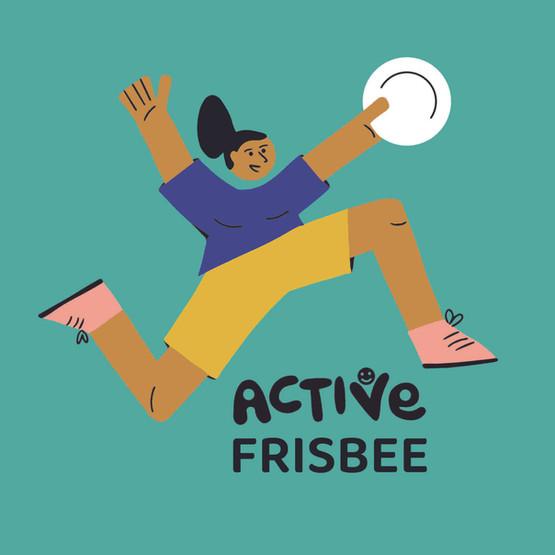 Active Frisbee