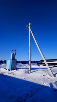 Временное электроснабжение стройтельной площадки
