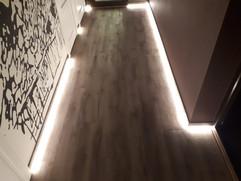 Светодиодная подсветка плинтуса