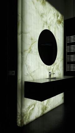 Декоративная подсветка в ванной комнате