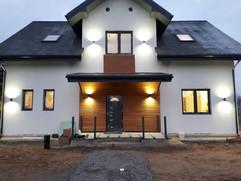 Декоративная подсветка фасада