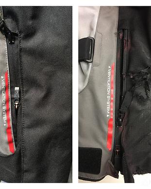Reparación chaqueta alpinestar