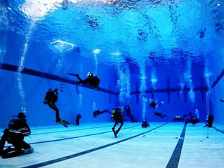 Winter Scuba Splashes or Pool Practices