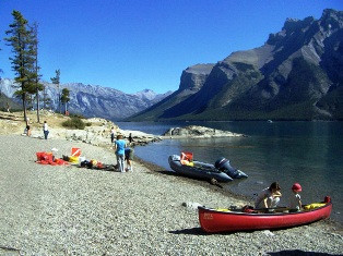 Divers Caution - Lk. Minnewanka Poor Vis Plus: Banff Parks - Scuba allowed only in Two Jack Lake &am